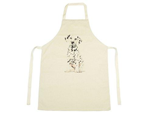 Jack FAIRWEATHER–Dalmatiner Aquarell Design gedruckt auf natürliche Baumwolle Schürze Hund Puppy Pet 1129 (Baumwolle Schürze Natürliche)