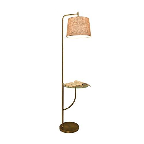 DELLT- Lampes de sol américaines simples Salon Chambre Canapé créatif Table basse Lampe de table verticale Lampes européennes modernes nordiques