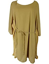 Unique boutique-robe pour long xXL jaune safran taille 46/48/50/52 54 saffron lollipop
