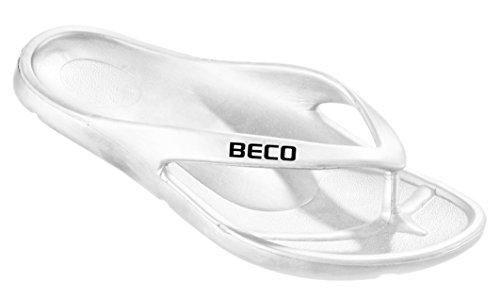 Beco Woman zehen Slipper bianco