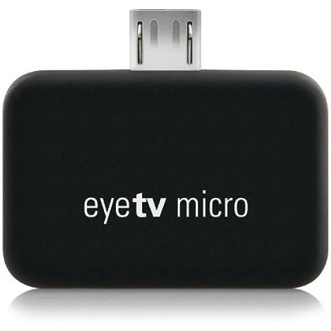 Elgato EyeTV Micro - Sintonizador de televisión para dispositivos Android (Micro USB), negro