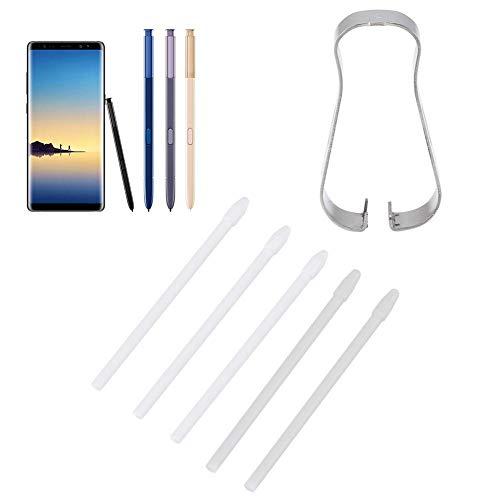 ASHATA Ersatz-Touch-Stylus-Tipps S Stiftspitzen-Werkzeugsatz für Samsung Galaxy Note 9, Note 8, für Galaxy Tab S3, Tab S4(Weiß) - Galaxy Tab Stylus Für Samsung S