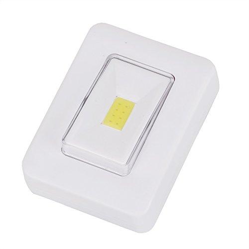 Nachtlicht Schalter FÜHRTE Wand Licht Nachtlicht Magnetische AAA Batterie Betrieben Ultra Helle Mit Magic Tape Für Garage Schrank -