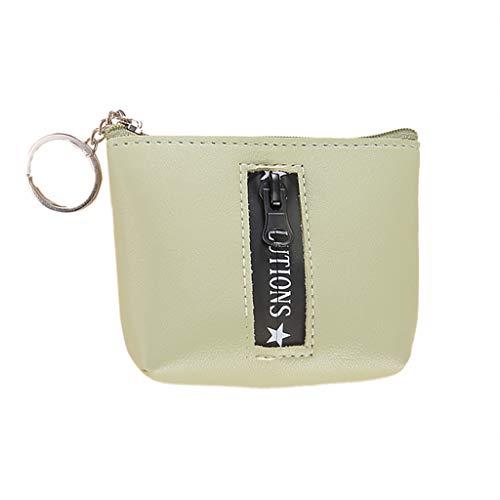 Mode GeldböRse Clutch TTLOVE Niedlicher Druck Mini Brieftasche Damen ReißVerschluss Handtasche Taschen (Minzgrün) (Personalisierte Sonnenbrille Hochzeit)