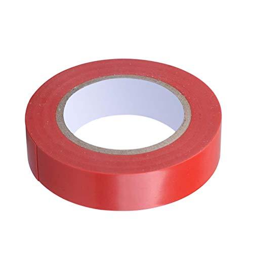 es wasserdichtes Isolierband PVC flammhemmend elektrisch Isolierband für den industriellen Heimgebrauch rot - 1 STÜCKE ()