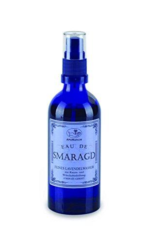 Raumduft Wäscheduft Eau de SMARAGD Lavendel Feines Lavendel Wasser Apomanum 6 Monate gelagert...