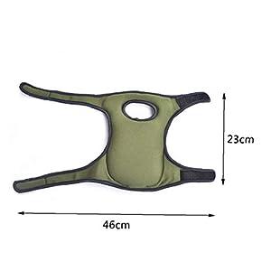 Angoter Nuevo 1 par de Espuma Suave Rodilleras Protectores Cojín Sport Protección Trabajo de jardinería y construcción de Limpieza fregando Suelos