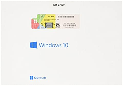 Microsoft Window's 10 Prefessional 64 Bit [import (Software)