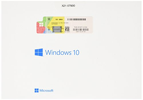 Microsoft Window 10 Pro 32/64 Bits Clave Licencia 100% Genuina WIN 10, Multilenguaje