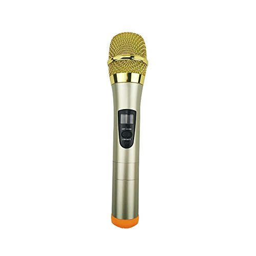 Tcaijing Kondensator-Mikrofone Funk-Mikrofon, Mikrofon, Mikrofon, Empfänger, Singen Mikrofon, Mikrofon - Caraudio-empfänger