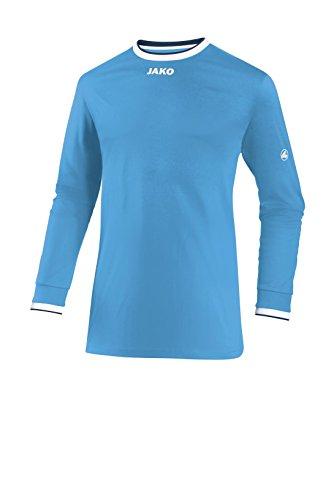 Jako–Maglia da calcio maglia la United Skyblue/Weiß/Marine
