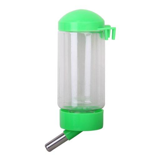 nourrisseur-bouteille-de-distributeur-de-leau-suspendue-avec-tuyau-en-mtal-pour-chien-chat-vert