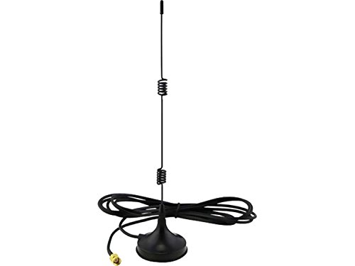 7dBi ad alto guadagno antenna omnidirezionale per CCTV Wireless 2.4Ghz, AV mittente o WIFI- include femmina SMA e M2M SMA adattatore