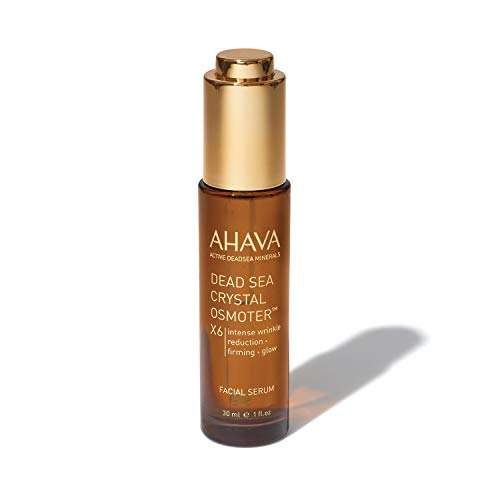 AHAVA Dead Sea Crystal Osmoter X6 Facial Serum 30 ml Natural Anti Aging and Wrinkle Reduction for Women