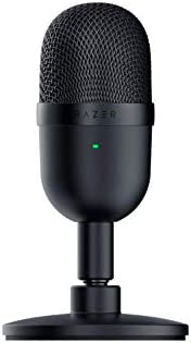 Razer Seiren Mini Ultra Compact Condenser Microphone - Ultra-Precise Supercardioid Pickup Pattern, Professiona
