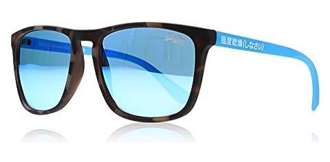 Superdry lunettes de soleil Shockwave 105 Havana Brown Blue Blue Mirror