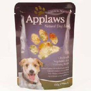 Applaws Chicken & Vegetables in a Ginseng Broth 150g from MPM Products
