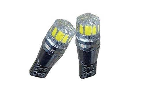 C63® 2Pack T10LED-Glühbirne, W5W LED-Glühbirne. Fehlerfrei Canbus Standlicht, 194Xenon Weiß Lampe Set Hid Cree Glühbirnen 194
