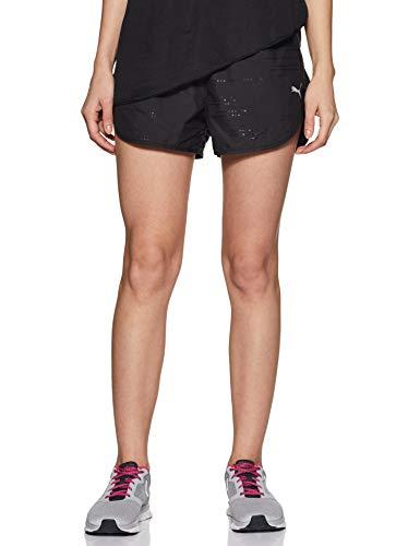 PUMA Keep Up Graphic Damen Running Shorts puma Black-Q1 Print S