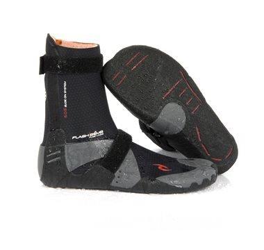 /16 Rip Curl Flashbomb 5mm Hidden Split Toe Boot WBO5IF Boot/Shoe Size UK - UK Size 8 (Split Wetsuit Boots Toe)