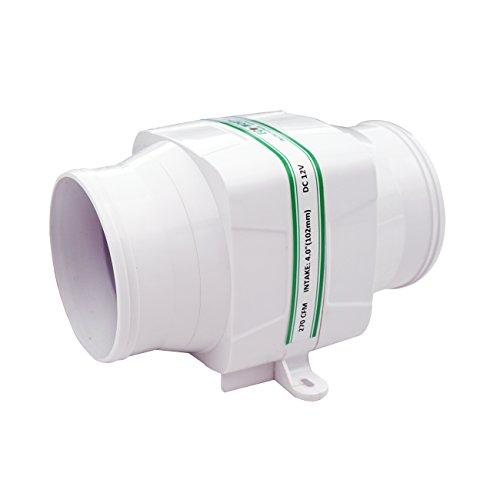 DCHOUSE in-line Gebläse Bilge 12 V Luftkühlung Fan 270 CFM Hohe Durchflussmenge Kapazität leise R