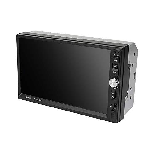 Auto-Stereoanlage, 7-Zoll-Doppel-Din-Auto-Touch-Hd-Bildschirm Blauzahn Mp5 mit Kamera Unterstützung Square Control/Interconnection / DREI Bildschirm mit dem gleichen/umgekehrtes Bild 702 Interconnection Kit
