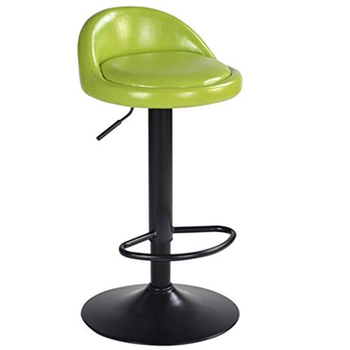 TYUIO Barhocker Counter Height Adjustable Bar Stühle mit Rücken Barhocker PU Leder Swivel Barhocker Küche Counter Stühle Esszimmerstühle (Farbe : C) -