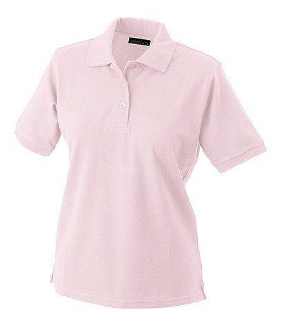 James & Nicholson Klassisches Ladies Poloshirt JN 071 Gr. Small, Pink - Rose