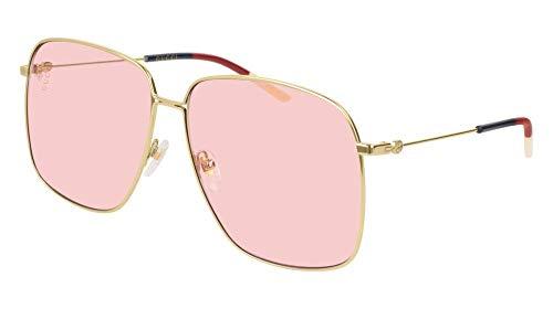 Gucci Sonnenbrillen GG0394S Gold/PINK Damenbrillen