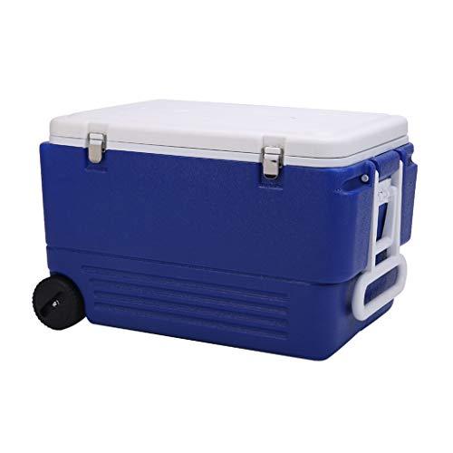 LIYANLCX Kühlbox Tragbarer Kühlschrank/Gefrierschrank Kompaktfahrzeug Auto Mini Kühlschrank Kühler Camping & Travel Erste-Hilfe-Kits - 80L -