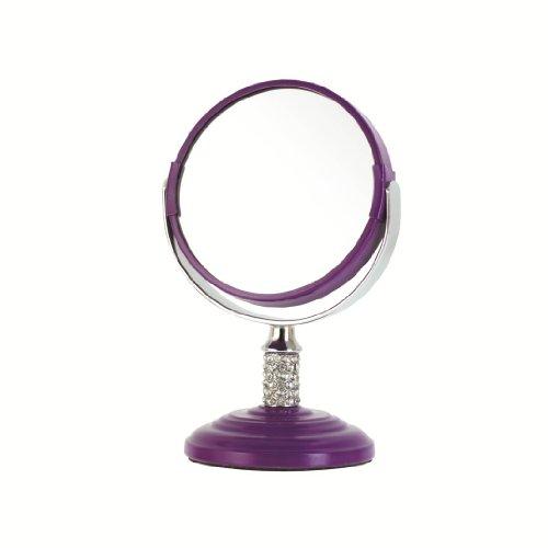 Danielle Garden Explosion - Mini specchio Vanity, 8,5 cm, colore viola