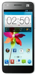 ZTE Grand S Flex Smartphone 4G USB Android 4.1 Jelly Bean 1 Go Blanc