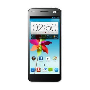 ZTE Grand S Flex Smartphone (12,7 cm (5 Zoll) Touchscreen, 1,2GHz, 1GB RAM, 8 Megapixel Kamera, 16GB interner Speicher, Android 4.1) weiß