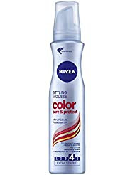 Nivea Color Care & Protect Styling Mousse, Schaumfestiger, Doppelpack, (2 x 150 ml)