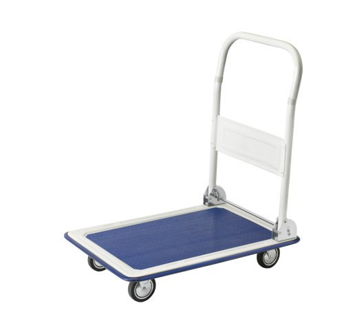 carrivan Large Folding Platform Trolley 150 kg Steel Test