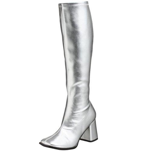 efel, Silber (Silver), EU 37 (UK 4) (Halloween-kostüm-clearance)