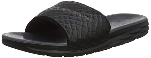 pretty nice 77807 5fdf7 Nike Men s Benassi Solarsoft Slide 2 Flip Flop, Black (Black   Anthracite),