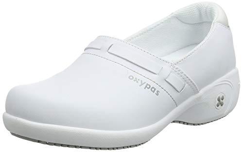 Oxypas Lucia, Zapatos de seguridad para Mujer, Blanco (White Wht), 3.5 UK (36 EU)
