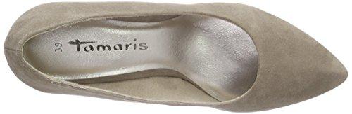 Tamaris22415 - Scarpe con Tacco Donna Marrone (Braun (PEPPER SUEDE 343))