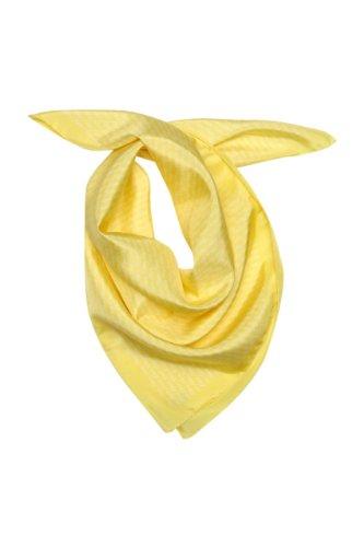 kiton-foulard-en-soie-sunshine-unisex-couleur-jaune-taille-one-size