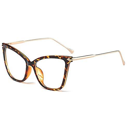 SNXIHES Sonnenbrillen Cat Eye Optische Brillen Rahmen Für Männer Weibliche Klasse Brillen Brillengestell Computer Myopie Brillen 9