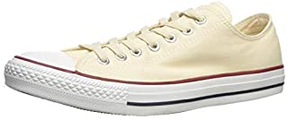 Converse Chuck Taylor All Star, Sneakers Unisex - Adulto, Bianco (Natural White), 37.5 EU (B0001Y92KY) | Amazon price tracker / tracking, Amazon price history charts, Amazon price watches, Amazon price drop alerts