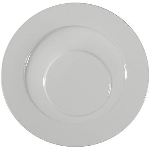 CIM High Gastronomie Lido–Set 6Speiseteller, 31,5cm, weiß