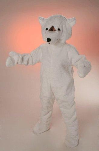 Eisbär Maskottchen Kostüm - Promotion Kostüm Big Eisbär Tierkostüm Maskottchen Laufkostüm Einheitsgröße