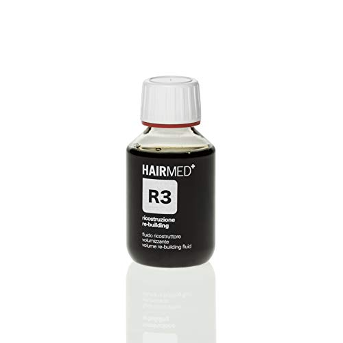 HAIRMED - Ricostruttore capelli professionale senza parabeni (Ricostruttore Cheratina Per Capelli Danneggiati R3)