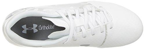 Under Armour Unisex Kids  Ua Spotlight Dl Fg Jr Footbal Shoes  White  5 UK
