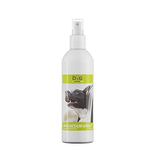 animalone The Dog - MAGNESIUMSPRAY 200 ml - für Hunde - Magnesium Öl Spray für entspannte Muskeln - Hunde-Massage - besonders geeignet für Tunierhunde & Agility-Hunde