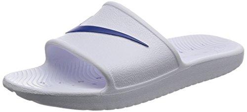 Nike Kawa Shower, Zapatos Playa Piscina Hombre, Blanco