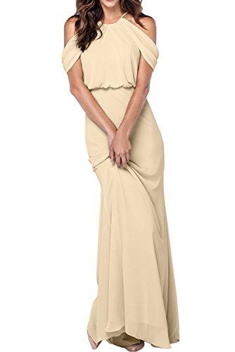 Missdressy -  Vestito  - linea ad a - Donna Champagne
