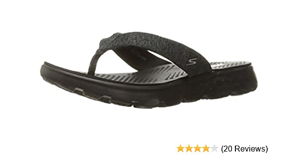 6263c9b49e28 Skechers Women s On-The-Go 400-Vivacity Flip-Flops  Buy Online at ...